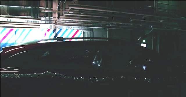 新型アテンザワゴン・ルーフレール
