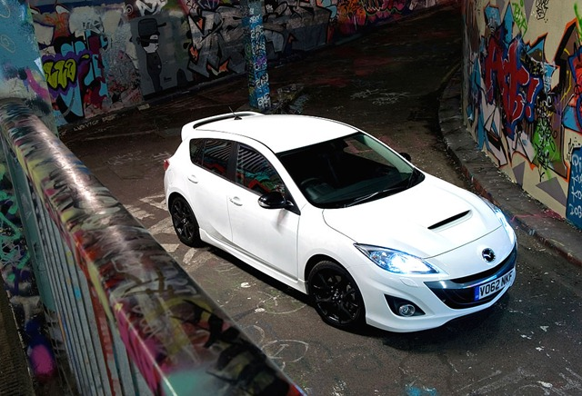 Mazda3 MPS白 イギリス